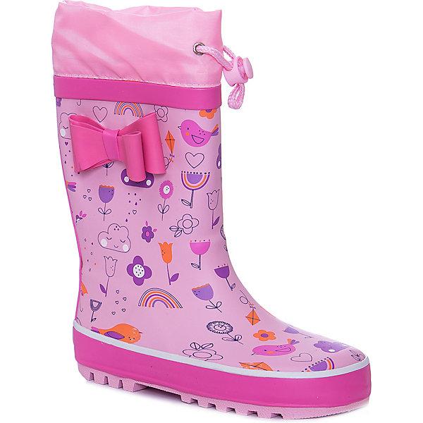 Купить Резиновые сапоги Mursu для девочки, Китай, розовый, 30, 29, 34, 33, 32, 31, Женский