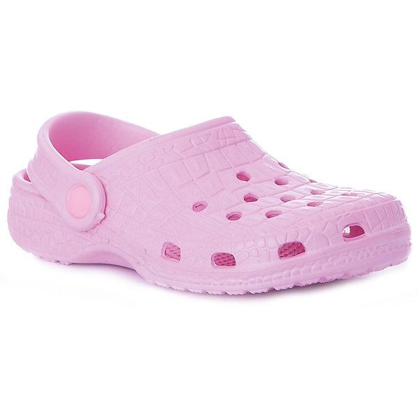 Сабо Mursu для девочкиПляжная обувь<br>Характеристики товара:<br><br>• цвет: розовый;<br>• внешний материал: ЭВА;<br>• внутренний материал: ЭВА;<br>• стелька: ЭВА;<br>• подошва: ЭВА;<br>• сезон: лето;<br>• облегчённая модель;<br>• подходит для пляжа;<br>• подходит для занятий в бассейне;<br>• отверстия для вентиляции;<br>• закрытый нос;<br>• устойчивая подошва;<br>• страна бренда: Финляндия.я<br><br>Удобные кроксы Mursu незаменимы для пляжного сезона. Легкая модель полностью выполнена из качественного полимерного материала. У кроксов имеется подвижный ремешок с пластиковыми кнопками. Большое количество дырочек в верхней части обуви обеспечивает вентиляцию ноги. Модель выполнена розовом цвете.<br><br>Пляжная обувь финского бренда Mursu - это отличный вариант правильной и красивой детской обуви!<br><br>Пляжную обувь Mursu для девочки можно купить в нашем интернет-магазине.<br>Ширина мм: 225; Глубина мм: 139; Высота мм: 112; Вес г: 290; Цвет: розовый; Возраст от месяцев: 21; Возраст до месяцев: 24; Пол: Женский; Возраст: Детский; Размер: 24,29,28,27,26,25; SKU: 7723206;