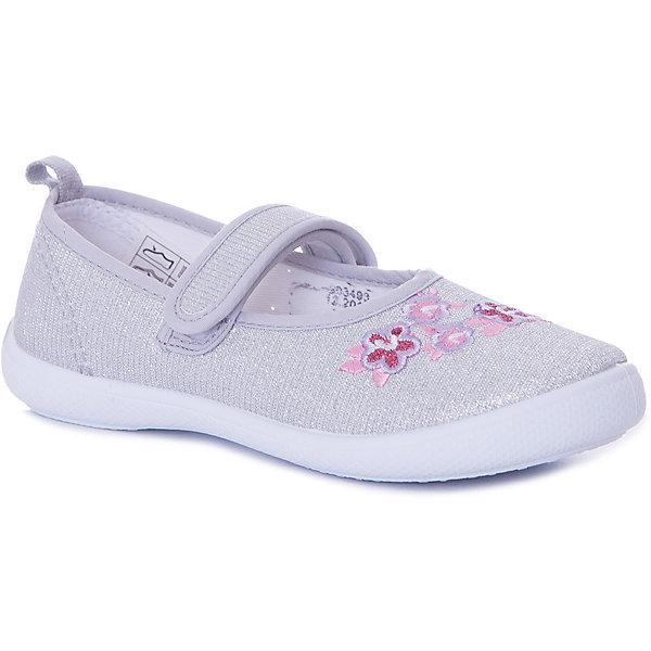 Туфли Mursu для девочкиТекстильные туфли<br>Характеристики товара:<br><br>• цвет: светло-серый<br>• материал верха: текстиль<br>• подклад: текстиль<br>• стелька: натуральная кожа<br>• подошва: ПВХ<br>• сезон: лето<br>• особенности модели: цветочный принт<br>• застежка: эластичная резинка<br>• анатомические<br>• страна бренда: Финляндия<br><br><br>Текстильные туфли Mursu можно использовать как сменную в детском саду, так и для прогулок в сухую погоду. Удобная форма позволяет быстро надеть и снять обувь. Модель выполнена в универсальном светло-сером цвете, а красивый вышитый принт неприменно порадует вашу малышку.<br><br>Обувь Мурсу - это качественная финская продукция, которая помогает детям выглядеть модно и чувствовать себя удобно.<br><br>Текстильные туфли для девочки Mursu можно купить в нашем интернет-магазине.<br>Ширина мм: 227; Глубина мм: 145; Высота мм: 124; Вес г: 325; Цвет: серебряный; Возраст от месяцев: 24; Возраст до месяцев: 24; Пол: Женский; Возраст: Детский; Размер: 25,30,29,28,26,27; SKU: 7723601;