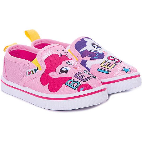 Слипоны Kakadu My little Pony для девочкиСлипоны<br>Характеристики товара:<br><br>• цвет: розовый<br>• материал верха: текстиль<br>• подклад: хлопок<br>• стелька: хлопок<br>• подошва: ПВХ<br>• сезон: лето<br>• застежка: нет<br>• подошва не скользит <br>• анатомические <br>• страна бренда: Россия<br><br>Розовые детские слипоны от известного бренда Kakadu выполнены в актуальном для наступающего сезона стиле. Эти слипоны для детей благодаря натуральному материалу подкладки обеспечивают ногам комфорт. Слипоны с принтом «My little Pony» для ребенка имеют удобную устойчивую подошву. <br><br>Слипоны «My little Pony» Kakadu (Какаду) для девочки можно купить в нашем интернет-магазине.<br>Ширина мм: 250; Глубина мм: 150; Высота мм: 150; Вес г: 250; Цвет: розовый; Возраст от месяцев: 24; Возраст до месяцев: 24; Пол: Женский; Возраст: Детский; Размер: 25,30,29,28,27,26; SKU: 7729309;