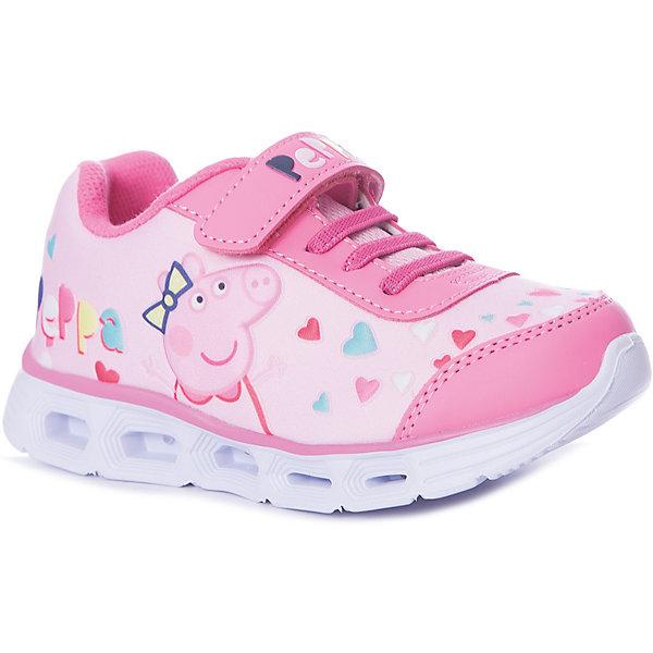 Купить Кроссовки Kakadu Peppa Pig для девочки, Китай, розовый, 24, 29, 28, 27, 26, 25, Женский
