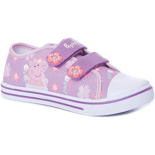 Купить Кеды Kakadu Peppa Pig для девочки, Китай, лиловый, 24, 29, 28, 27, 26, 25, Женский