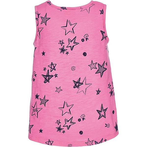 Майка Button Blue для девочкиФутболки, поло и топы<br>Характеристики товара:<br><br>• цвет: розовый<br>• состав ткани: 100% хлопок<br>• сезон: лето<br>• без рукавов<br>• страна бренда: Россия<br><br>Розовая майка для детей выполнена из легкой принтованной ткани. Хлопковая майка для ребенка от известного бренда Button Blue отличается свободным силуэтом. Эта детская майка, как и другие модели одежды для ребенка от Button Blue - качественная стильная вещь по доступной цене. <br><br>Майку Button Blue (Баттон Блю) для девочки можно купить в нашем интернет-магазине.<br>Ширина мм: 199; Глубина мм: 10; Высота мм: 161; Вес г: 151; Цвет: розовый; Возраст от месяцев: 144; Возраст до месяцев: 156; Пол: Женский; Возраст: Детский; Размер: 158,98,104,110,116,122,128,134,140,146,152; SKU: 7744927;