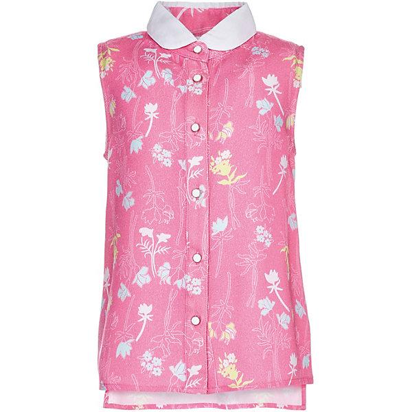 Купить Блузка Button Blue для девочки, Китай, розовый, 98, 158, 152, 146, 140, 134, 128, 122, 116, 110, 104, Женский