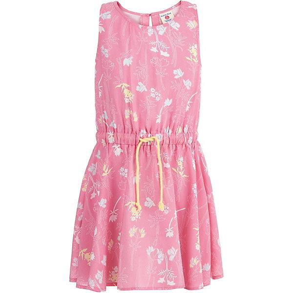 Платье Button Blue для девочкиПлатья и сарафаны<br>Характеристики товара:<br><br>• цвет: розовый<br>• состав ткани: 100% вискоза<br>• сезон: лето<br>• застежка: пуговица<br>• без рукавов<br>• страна бренда: Россия<br><br>Это детское платье сделано из принтованной вискозы, которая отлично подходит для теплой погоды. Модное платье для ребенка от популярного бренда Button Blue выполнено в приятном оттенке. Это платье для детей отличается популярным в наступающем сезоне силуэтом.<br><br>Платье Button Blue (Баттон Блю) для девочки можно купить в нашем интернет-магазине.<br>Ширина мм: 236; Глубина мм: 16; Высота мм: 184; Вес г: 177; Цвет: розовый; Возраст от месяцев: 144; Возраст до месяцев: 156; Пол: Женский; Возраст: Детский; Размер: 158,98,152,146,140,134,128,122,116,110,104; SKU: 7745227;