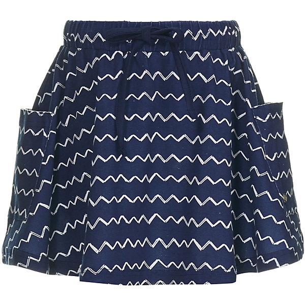 Юбка Button Blue для девочкиЮбки<br>Юбка Button Blue для девочки<br>Легкая и свободная юбка с карманами - прекрасный пример практичной и модной одежды. Чтобы удачно пополнить летний гардероб ребенка, можно недорого купить юбку для девочки от Button Blue - удобную и стильную модель, которая дарит только комфорт. Юбка синего цвета с узором из полосок подходит для повседневного ношения и сочетается с самыми разными образами.<br>Состав:<br>95%хлопок, 5%эластан<br>Ширина мм: 207; Глубина мм: 10; Высота мм: 189; Вес г: 183; Цвет: темно-синий; Возраст от месяцев: 24; Возраст до месяцев: 36; Пол: Женский; Возраст: Детский; Размер: 98,158,152,146,140,134,128,122,116,110,104; SKU: 7745346;