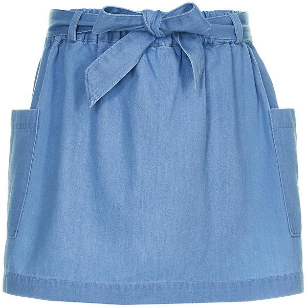 Купить Юбка Button Blue для девочки, Китай, голубой, 152, 146, 140, 134, 128, 122, 116, 110, 104, 98, 158, Женский