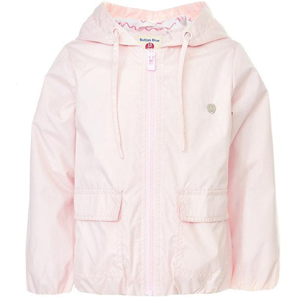 Куртка Button Blue для девочкиВерхняя одежда<br>Характеристики товара:<br><br>• цвет: розовый<br>• состав ткани: 100% полиэстер<br>• подкладка: 100% хлопок<br>• утеплитель: нет<br>• сезон: демисезон<br>• особенности модели: с капюшоном<br>• застежка: молния<br>• длинные рукава<br>• страна бренда: Россия<br><br>Легкая куртка для детей отлично подходит для прохладной погоды. Ветровка для ребенка от популярного бренда Button Blue позволит обеспечить ребенку комфорт благодаря высокому качеству пошива и продуманному крою. Материал этой детской куртки - качественный и безопасный для детей. <br><br>Куртку Button Blue (Баттон Блю) для девочки можно купить в нашем интернет-магазине.<br>Ширина мм: 356; Глубина мм: 10; Высота мм: 245; Вес г: 519; Цвет: розовый; Возраст от месяцев: 132; Возраст до месяцев: 144; Пол: Женский; Возраст: Детский; Размер: 152,146,140,134,128,122,116,110,104,98,158; SKU: 7745752;