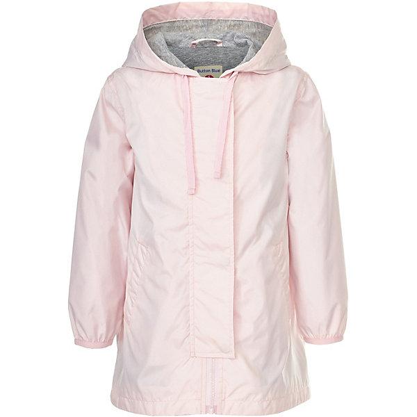 Куртка удлиненная Button Blue для девочкиВерхняя одежда<br>Характеристики товара:<br><br>• цвет: розовый<br>• состав ткани: 100% полиэстер<br>• подкладка: 100% хлопок<br>• утеплитель: нет<br>• сезон: демисезон<br>• особенности модели: с капюшоном<br>• застежка: молния<br>• длинные рукава<br>• страна бренда: Россия<br><br>Удлиненная детская куртка, как и другие модели одежды для ребенка от Button Blue - качественная стильная вещь по доступной цене. Куртка для ребенка от известного бренда Button Blue отличается прямым силуэтом. Эта куртка для детей дополнена капюшоном и планкой от ветра. <br><br>Куртку Button Blue (Баттон Блю) для девочки можно купить в нашем интернет-магазине.<br>Ширина мм: 356; Глубина мм: 10; Высота мм: 245; Вес г: 519; Цвет: розовый; Возраст от месяцев: 24; Возраст до месяцев: 36; Пол: Женский; Возраст: Детский; Размер: 98,158,152,146,140,134,128,122,116,110,104; SKU: 7745764;