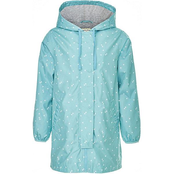 Куртка удлиненная Button Blue для девочкиВерхняя одежда<br>Куртка Button Blue для девочки<br>Длинная ветровка для девочки - альтернатива классической куртке-ветровке, подходящая для дождливой прохладной погоды. Купить дешево детскую ветровку в интернет-магазине Button Blue - значит приобрести практичную и удобную вещь, которая покорит своими характеристиками и понравится дизайном. У куртки имеется подкладка из хлопка, благодаря чему обеспечивается дополнительный комфорт.<br>Состав:<br>верх:100% полиэстер,подкладка1: 100%хлопок; подкладка2: 100%полиэстер<br>Ширина мм: 356; Глубина мм: 10; Высота мм: 245; Вес г: 519; Цвет: бирюзовый; Возраст от месяцев: 24; Возраст до месяцев: 36; Пол: Женский; Возраст: Детский; Размер: 98,158,152,146,140,134,128,122,116,104,110; SKU: 7745788;