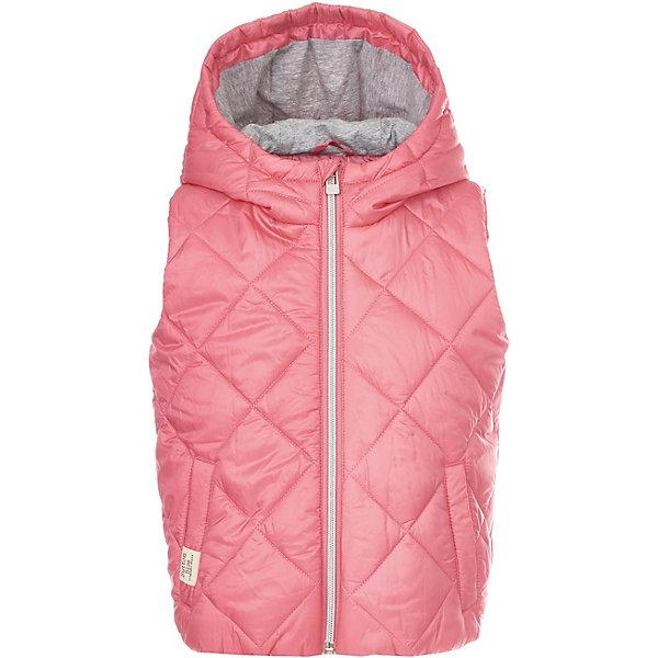 Жилет Button Blue для девочкиВерхняя одежда<br>Характеристики товара:<br><br>• цвет: розовый<br>• состав ткани: 100% полиэстер<br>• подкладка: 100% полиэстер<br>• утеплитель: 100% полиэстер<br>• сезон: демисезон<br>• особенности модели: стеганая, с капюшоном<br>• застежка: молния<br>• страна бренда: Россия<br><br>Стеганый детский жилет, как и другие модели одежды для ребенка от Button Blue - качественная стильная вещь по доступной цене. Жилет для ребенка от известного бренда Button Blue отличается наличием капюшона. Этот жилет для детей дополнен удобными карманами. <br><br>Жилет Button Blue (Баттон Блю) для девочки можно купить в нашем интернет-магазине.<br>Ширина мм: 356; Глубина мм: 10; Высота мм: 245; Вес г: 519; Цвет: розовый; Возраст от месяцев: 24; Возраст до месяцев: 36; Пол: Женский; Возраст: Детский; Размер: 98,158,152,146,140,134,128,122,116,110,104; SKU: 7745812;