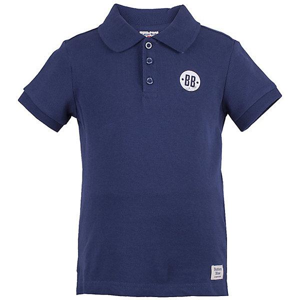 Купить Футболка-поло Button Blue для мальчика, Китай, темно-синий, 134, 140, 128, 122, 158, 116, 110, 104, 152, 98, 146, Мужской
