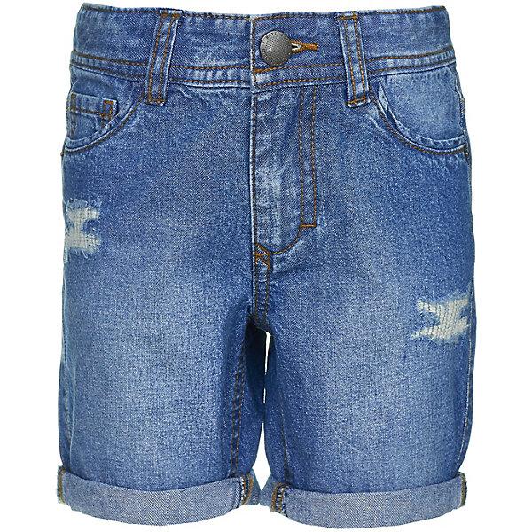 Шорты Button Blue для мальчикаШорты, бриджи, капри<br>Характеристики товара:<br><br>• цвет: синий<br>• состав ткани: 100% хлопок<br>• сезон: лето<br>• застежка: пуговица<br>• шлевки<br>• страна бренда: Россия<br><br>Джинсовые детские шорты сделаны из хлопковой ткани, которая отлично подходит для теплой погоды. Такие шорты для ребенка от популярного бренда Button Blue выполнены в универсальном цвете. Удобные шорты для детей отличаются популярным в наступающем сезоне силуэтом.<br><br>Шорты Button Blue (Баттон Блю) для мальчика можно купить в нашем интернет-магазине.<br>Ширина мм: 191; Глубина мм: 10; Высота мм: 175; Вес г: 273; Цвет: синий; Возраст от месяцев: 24; Возраст до месяцев: 36; Пол: Мужской; Возраст: Детский; Размер: 110,104,98,158,152,146,140,134,128,122,116; SKU: 7746516;