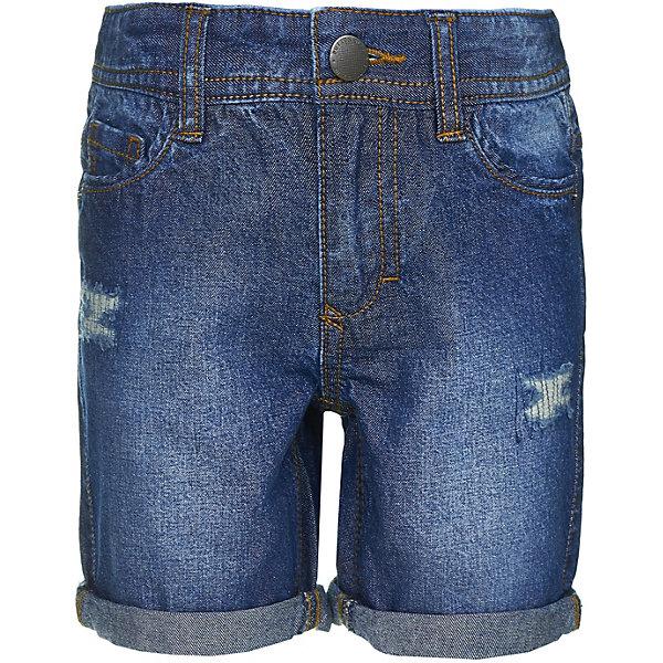 Шорты Button Blue для мальчикаШорты, бриджи, капри<br>Шорты Button Blue для мальчика<br>Джинсовые шорты никогда не выходят из моды! Чтобы удачно пополнить детский гардероб, можно дешево купить шорты для мальчика от Button Blue, выполненные из голубой джинсовой ткани. Модель идеально подходит для повседневного ношения, для активного отдыха, прогулок. Средняя длина шорт и обилие карманов делает их очень практичными и удобными, а классический дизайн позволяет сочетать с какой угодно одеждой.<br>Состав:<br>100% хлопок<br>Ширина мм: 191; Глубина мм: 10; Высота мм: 175; Вес г: 273; Цвет: темно-синий; Возраст от месяцев: 24; Возраст до месяцев: 36; Пол: Мужской; Возраст: Детский; Размер: 98,158,152,146,140,134,128,122,116,110,104; SKU: 7746528;