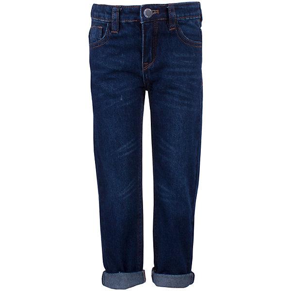 Джинсы Button Blue для мальчикаДжинсы<br>Джинсы Button Blue для мальчика<br>Купить детские джинсы, которые станут прекрасной основой гардероба для мальчика - не так просто как может показаться. Модель должна отвечать определенным требованиям: быть не просто модной, но и удобной, практичной, а также недорого стоить. Джинсы от Button Blue отвечают всем этим требованиям. Прямые, классической формы, они не стесняют движений и дарят своему владельцу только комфорт. Темно-синий цвет модели позволяет сочетать ее практически с любой одеждой.<br>Состав:<br>100% хлопок<br>Ширина мм: 215; Глубина мм: 88; Высота мм: 191; Вес г: 336; Цвет: темно-синий; Возраст от месяцев: 24; Возраст до месяцев: 36; Пол: Мужской; Возраст: Детский; Размер: 98,158,152,146,140,134,128,122,116,110,104; SKU: 7746612;