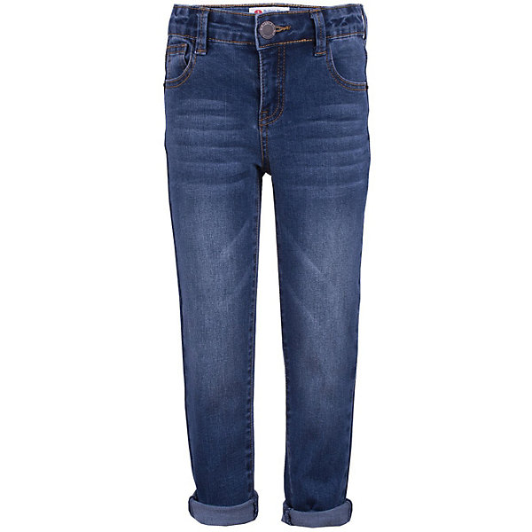 Джинсы Button Blue для мальчикаДжинсы<br>Характеристики товара:<br><br>• цвет: синий<br>• состав ткани: 75% хлопок, 23% полиэстер, 2% эластан<br>• сезон: демисезон<br>• застежка: пуговица<br>• шлевки<br>• страна бренда: Россия<br><br>Такие джинсы для детей отличаются популярным в наступающем сезоне силуэтом Boyfriend. Детские джинсы сделаны из эластичной мягкой ткани, которая позволяет коже дышать. Джинсы для ребенка от популярного бренда Button Blue выполнены в универсальном цвете. <br><br>Джинсы Button Blue (Баттон Блю) для мальчика можно купить в нашем интернет-магазине.<br>Ширина мм: 215; Глубина мм: 88; Высота мм: 191; Вес г: 336; Цвет: синий; Возраст от месяцев: 24; Возраст до месяцев: 36; Пол: Мужской; Возраст: Детский; Размер: 98,158,152,146,140,134,128,122,116,110,104; SKU: 7746636;