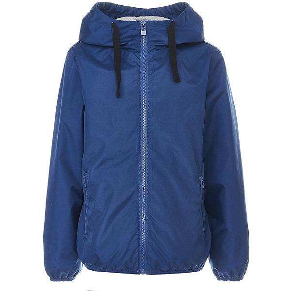 Куртка Button Blue для мальчикаВерхняя одежда<br>Характеристики товара:<br><br>• цвет: синий<br>• состав ткани: 100% полиэстер<br>• подкладка: 100% хлопок<br>• утеплитель: нет<br>• сезон: демисезон<br>• особенности модели: с капюшоном<br>• застежка: молния<br>• длинные рукава<br>• страна бренда: Россия<br><br>Синяя легкая куртка для детей отлично подходит для прохладной погоды. Ветровка для ребенка от популярного бренда Button Blue позволит обеспечить ребенку комфорт благодаря высокому качеству пошива и продуманному крою. Материал этой детской куртки - качественный и безопасный для детей. <br><br>Куртку Button Blue (Баттон Блю) для мальчика можно купить в нашем интернет-магазине.<br>Ширина мм: 356; Глубина мм: 10; Высота мм: 245; Вес г: 519; Цвет: темно-синий; Возраст от месяцев: 24; Возраст до месяцев: 36; Пол: Мужской; Возраст: Детский; Размер: 98,158,152,146,140,134,128,122,116,110,104; SKU: 7746672;