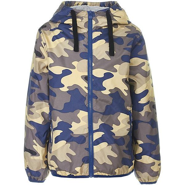 Куртка Button Blue для мальчикаВерхняя одежда<br>Характеристики товара:<br><br>• цвет: хаки<br>• состав ткани: 100% полиэстер<br>• подкладка: 100% хлопок<br>• утеплитель: нет<br>• сезон: демисезон<br>• особенности модели: с капюшоном<br>• застежка: молния<br>• длинные рукава<br>• страна бренда: Россия<br><br>Стильная и практичная детская куртка, как и другие модели одежды для ребенка от Button Blue - качественная стильная вещь по доступной цене. Куртка для ребенка от известного бренда Button Blue отличается прямым силуэтом. Эта куртка для детей дополнена капюшоном. <br><br>Куртку Button Blue (Баттон Блю) для мальчика можно купить в нашем интернет-магазине.<br>Ширина мм: 356; Глубина мм: 10; Высота мм: 245; Вес г: 519; Цвет: зеленый; Возраст от месяцев: 144; Возраст до месяцев: 156; Пол: Мужской; Возраст: Детский; Размер: 158,98,104,110,116,122,128,134,140,146,152; SKU: 7746684;