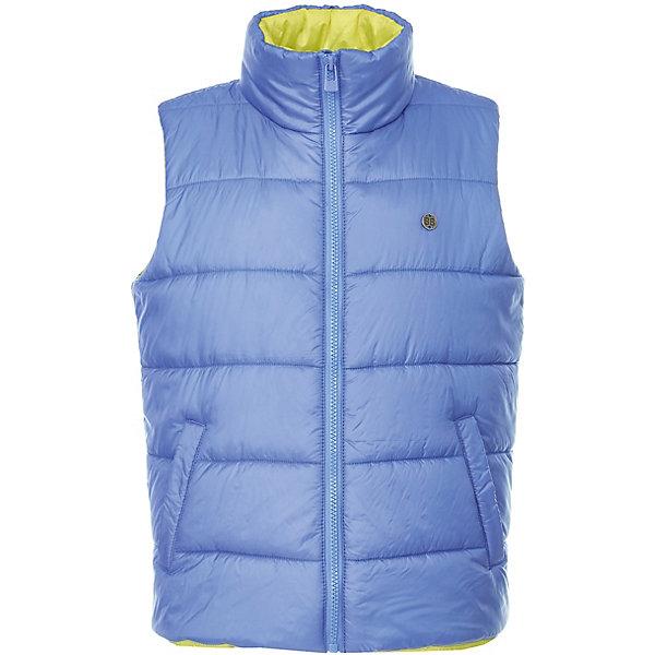 Жилет Button Blue для мальчикаВерхняя одежда<br>Характеристики товара:<br><br>• цвет: синий<br>• состав ткани: 100% полиэстер<br>• подкладка: 100% полиэстер<br>• утеплитель: 100% полиэстер<br>• сезон: демисезон<br>• особенности модели: стеганая, с капюшоном<br>• застежка: молния<br>• страна бренда: Россия<br><br>Стеганый детский жилет, как и другие модели одежды для ребенка от Button Blue - качественная стильная вещь по доступной цене. Жилет для ребенка от известного бренда Button Blue отличается стильным кроем. Этот жилет для детей дополнен удобными карманами. <br><br>Жилет Button Blue (Баттон Блю) для мальчика можно купить в нашем интернет-магазине.<br>Ширина мм: 356; Глубина мм: 10; Высота мм: 245; Вес г: 519; Цвет: синий; Возраст от месяцев: 108; Возраст до месяцев: 120; Пол: Мужской; Возраст: Детский; Размер: 140,134,128,122,116,110,104,98,158,152,146; SKU: 7746732;