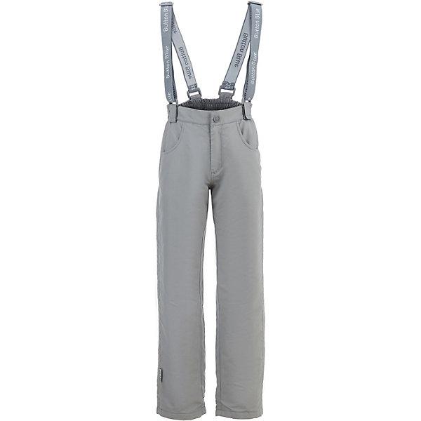 Брюки Button Blue для девочкиВерхняя одежда<br>Брюки Button Blue для девочки<br>Демисезонные брюки на подтяжках из мембранной ткани - комфортная одежда для девочки, рассчитанная на прохладное время года. Спокойный серый цвет брюк делает их подходящими практически ко всему. Модель имеет подкладку из флиса, она удобна и практична, не стесняет движений и дарит комфорт и тепло. купить недорого детские демисезонные брюки по выгодной цене можно в интернет-магазине Button-blue.com.<br>Состав:<br>верх: 100% полиэстер,подкладка: 100% полиэстер (флис)<br>Ширина мм: 215; Глубина мм: 88; Высота мм: 191; Вес г: 336; Цвет: серый; Возраст от месяцев: 24; Возраст до месяцев: 36; Пол: Женский; Возраст: Детский; Размер: 98,158,152,146,140,134,128,122,116,110,104; SKU: 7747001;