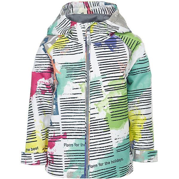 Куртка Button Blue для мальчикаВерхняя одежда<br>Характеристики товара:<br><br>• цвет: белый<br>• состав ткани: 100% полиэстер<br>• подкладка: 100% полиэстер<br>• утеплитель: нет<br>• сезон: демисезон<br>• особенности модели: с капюшоном<br>• застежка: молния<br>• длинные рукава<br>• страна бренда: Россия<br><br>Оригинальная принтованная ветровка для ребенка от популярного бренда Button Blue выполнена в приятной расцветке. Куртка для детей удобно застегивается на молнию. Такая детская куртка сделана из легкого материала и качественной фурнитуры. <br><br>Куртку Button Blue (Баттон Блю) для мальчика можно купить в нашем интернет-магазине.<br>Ширина мм: 356; Глубина мм: 10; Высота мм: 245; Вес г: 519; Цвет: разноцветный; Возраст от месяцев: 24; Возраст до месяцев: 36; Пол: Мужской; Возраст: Детский; Размер: 98,158,152,146,140,134,128,122,116,110,104; SKU: 7747025;