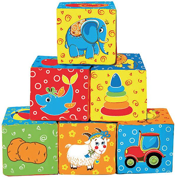 Купить Первые кубики для малышей Мой маленький мир , Macik, Украина, Унисекс
