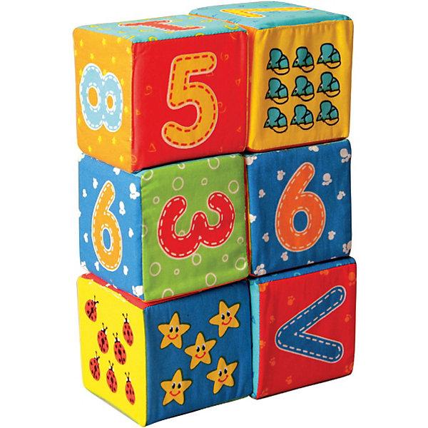 Первые кубики для малышей ЦифрыКубики<br>Характеристики:<br><br>• возраст: от 3 месяцев;<br>• материал: х/б ткань, поролон;<br>• количество кубиков: 6;<br>• размер упаковки: 8х16х33 см;<br>• вес упаковки: 110 гр.;<br>• страна бренда: Украина.<br><br>Первые кубики для малышей «Цифры» Macik сделаны из безопасных материалов специально для самых маленьких. Эти кубики можно кусать, кидать, мять в руках, что совсем не отразится на их форме.<br><br>На каждой стороне мягких кубиков есть красочное изображение, которое интересно изучать. Игра с этими кубиками развивает цветовосприятие, мелкую моторику и координацию движений. Кубики можно стирать.<br><br>Первые кубики для малышей «Цифры» можно купить в нашем интернет-магазине.<br>Ширина мм: 80; Глубина мм: 160; Высота мм: 330; Вес г: 110; Возраст от месяцев: 36; Возраст до месяцев: 2147483647; Пол: Унисекс; Возраст: Детский; SKU: 7748228;