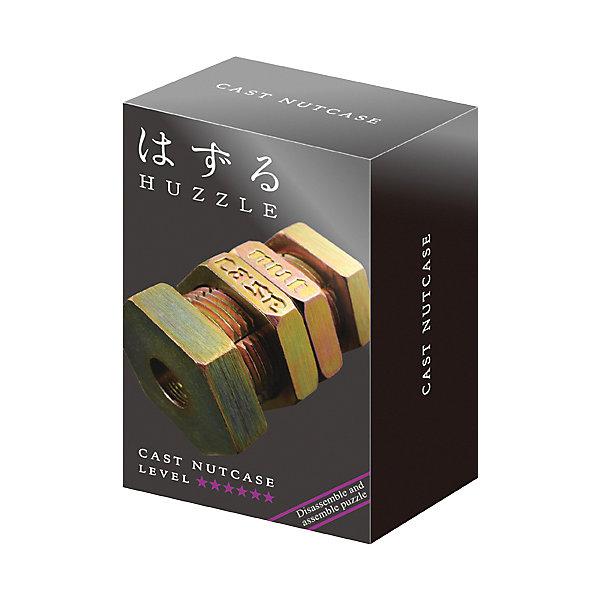 Головоломка Huzzle Cast ГайкаКлассические головоломки<br>Характеристики товара:<br><br>• возраст: от 8 лет;<br>• материал: металл;<br>• уровень сложности: 6;<br>• размер упаковки: 12х7,5х4,5 см;<br>• вес упаковки: 154 гр.;<br>• страна бренда: Япония.<br><br>Головоломка Huzzle Cast Гайка - это занимательное и интересное занятие для детей и взрослых, которое способствует развитию пространственного мышления, усидчивости, внимания, требует смекалки и сообразительности.<br><br>Смысл головоломки заключается в том, чтобы разделить детали головоломки, а затем снова соединить их. На первый взгляд может показаться, что это очень просто, но на самом деле здесь есть небольшой подвох. Поэтому новички должны быть крайне осторожны, и не пытаться применить силу, чтобы не повредить головоломку.<br><br>Головоломка Huzzle Cast Гайка можно купить в нашем интернет-магазине.<br>Ширина мм: 75; Глубина мм: 45; Высота мм: 120; Вес г: 147; Возраст от месяцев: 96; Возраст до месяцев: 2147483647; Пол: Унисекс; Возраст: Детский; SKU: 7749410;