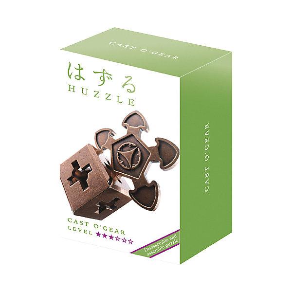Головоломка Huzzle Cast О`ГеарКлассические головоломки<br>Характеристики товара:<br><br>• возраст: от 8 лет;<br>• материал: металл;<br>• уровень сложности: 3;<br>• размер упаковки: 12х7,5х4,5 см;<br>• вес упаковки: 140 гр.;<br>• страна бренда: Япония.<br><br>Головоломка Huzzle Cast О`Геар - это занимательное и интересное занятие для детей и взрослых, которое способствует развитию пространственного мышления, усидчивости, внимания, требует смекалки и сообразительности.<br><br>Смысл головоломки заключается в том, чтобы разделить детали головоломки, а затем снова соединить их. На первый взгляд может показаться, что это очень просто, но на самом деле здесь есть небольшой подвох. Поэтому новички должны быть крайне осторожны, и не пытаться применить силу, чтобы не повредить головоломку.<br><br>Головоломка Huzzle Cast О`Геар можно купить в нашем интернет-магазине.<br>Ширина мм: 75; Глубина мм: 45; Высота мм: 120; Вес г: 172; Возраст от месяцев: 96; Возраст до месяцев: 2147483647; Пол: Унисекс; Возраст: Детский; SKU: 7749412;