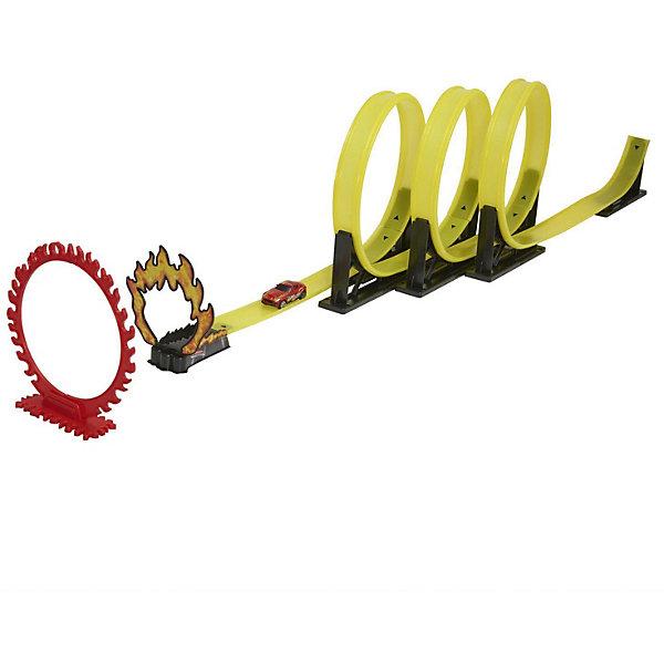 Трек HTI  Teamsterz  КрикАвтотреки<br>Характеристики:<br><br>• возраст: от 3 лет;<br>• материал: пластик;<br>• длина трека: 3 м;<br>• в наборе: трек, огненное кольцо, 1 инерционная машинка;<br>• вес упаковки: 870 гр.;<br>• размер упаковки: 60х6х26 см;<br>• страна бренда: Китай.<br><br>Трек HTI Teamsterz «Крик» идеально подходит для экстремальных заездов. В комплекте уже есть инерционная скоростная машинка, которая помчится по треку за счет силы ускорения, сделает целых три мертвых петли и вырвется к победе прямо сквозь огненное кольцо.<br><br>Игрушка выполнена из прочного безопасного пластика. Подходит для игр с другими наборами серии Teamsterz.<br><br>Трек HTI Teamsterz «Крик» можно купить в нашем интернет-магазине.<br>Ширина мм: 600; Глубина мм: 60; Высота мм: 260; Вес г: 870; Возраст от месяцев: 36; Возраст до месяцев: 1188; Пол: Мужской; Возраст: Детский; SKU: 7749450;