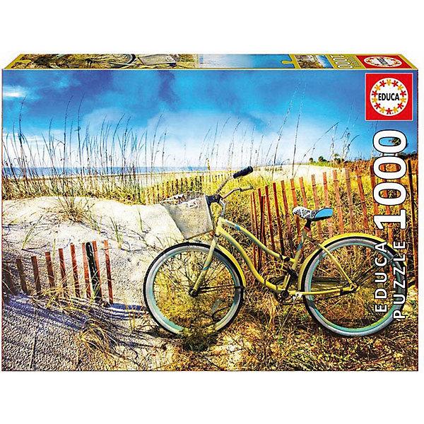 Пазл Educa 1000 деталей Велосипед в дюнахПазлы классические<br>Характеристики товара:<br><br>• возраст: от 9 лет;<br>• количество деталей: 1000 шт;<br>• материал: картон;<br>• в комплекте: сухой клей;<br>• размер упаковки: 37х27х6 см;<br>• размер картины: 68х48 см;<br>• вес упаковки: 700 гр.;<br>• страна бренда: Испания.<br><br>Пазл Educa Велосипед в дюнах – это отличный способ увлекательно провести досуг, снять стресс и развить моторику.<br><br>Качество этих пазлов подтверждено миллионами любителей сборки пазлов. Каждая деталь имеет индивидуальную форму и легко соединяется с другой, поэтому у Вас обязательно получится ожидаемый результат.<br><br>Компания Educa предоставляет уникальный постпродажный сервис - бесплатная доставка в любую точку мира потерянной детали.<br><br>Пазл Educa Велосипед в дюнах можно купить в нашем интернет-магазине.<br>Ширина мм: 370; Глубина мм: 55; Высота мм: 270; Вес г: 750; Возраст от месяцев: 36; Возраст до месяцев: 1188; Пол: Унисекс; Возраст: Детский; SKU: 7753405;