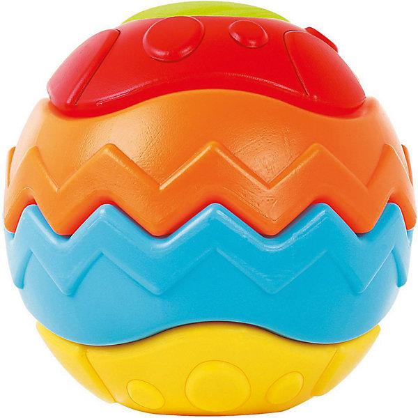 Игрушка Bebelino Мяч 3D головоломкаРазвивающие игрушки<br>Характеристики товара:<br><br>• возраст: от 9 месяцев;<br>• пол: для мальчиков и девочек;<br>• комплект: 5 деталей;<br>• из чего сделана игрушка (состав): пластмасса;<br>• размер игрушки: 17х17х17 см.;<br>• вес: 295 гр.;<br>• упаковка: картонная коробка блистерного типа;<br>• страна обладатель бренда: Великобритания.<br><br>Развивающая игрушка «Мяч 3D-головоломка» состоит из 5 разноцветных деталей, образующих сферу. <br><br>В процессе игры ребенок может собрать 12 других фигур - фонарик, цветок, яблоко, песочные часы, космический корабль и другие. <br><br>Простая головоломка может стать для малыша серьезным испытанием, завлекая его в процесс решения или изобретения новых конструкций.<br><br>Игрушка способствует развитию внимательности и усидчивости, цветового восприятия и фантазии. <br><br>Развивающую игрушку «Мяч 3D-головоломку» можно купить в нашем интернет-магазине.<br>Ширина мм: 170; Глубина мм: 170; Высота мм: 170; Вес г: 295; Цвет: разноцветный; Возраст от месяцев: 9; Возраст до месяцев: 2147483647; Пол: Унисекс; Возраст: Детский; SKU: 7753474;