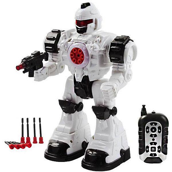 Робот с и/к управлением Mioshi   Steel Wolf AresРоботы<br>Характеристики:<br><br>• возраст: от 3 лет;<br>• материал: пластмасса;<br>• цвет: серый;<br>• в наборе: робот, пульт управления, ракеты с резиновыми наконечниками, инструкция;<br>• тип батареек: 5хАА;<br>• наличие батареек: не в комплекте;<br>• вес: 1,02 кг.;<br>• размер упаковки: 35х25х15 см;<br>• страна бренда: Китай.<br><br>Робот с инфракрасным управлением Mioshi «Steel Wolf Ares» умеет ходить во всех направлениях, не стесняется танцевать и стреляет ракетами прямо из груди, стоит лишь нажать кнопку на пульте управления.<br><br>У робота грозный внешний вид, детализированный корпус, подвижные руки. Имеются световые и звуковые эффекты. Игрушка выполнена из качественных безопасных материалов, устойчива к механическому воздействию.<br><br>Робота с и/к управлением Mioshi «Steel Wolf Ares» можно купить в нашем интернет-магазине.<br>Ширина мм: 25; Глубина мм: 15; Высота мм: 35; Вес г: 1020; Цвет: серый; Возраст от месяцев: 36; Возраст до месяцев: 72; Пол: Унисекс; Возраст: Детский; SKU: 7753525;