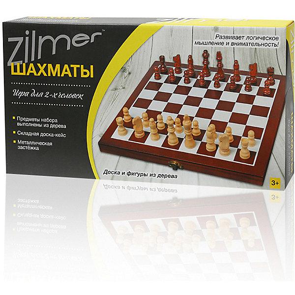 Купить Настольная игра Шахматы Zilmer, 30, 5х15, 3х4, 2 см, дерево, Китай, разноцветный, Унисекс