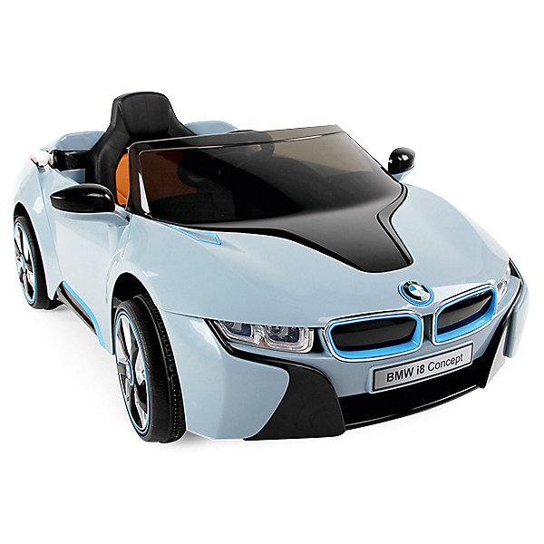 Электромобиль  р/у  Zilmer BMW i8, 127х76х52 смЭлектромобили<br>Характеристики:<br><br>• возраст: от 3 лет;<br>• материал: пластик;<br>• в наборе: машина, аккумуляторная батарея 6V/7Ah;<br>• цвет: белый с голубым;<br>• свет, звук: да;<br>• вес упаковки: 22 кг.;<br>• размер: 127х76х52;<br>• размер упаковки: 127х64х38 см;<br>• страна бренда: Китай.<br><br>Электромобиль Zilmer BMW i8 управляется прямо из салона с помощью руля. Машина работает от аккумулятора, который обеспечивает два режима скорости. Электромобиль движется во всех направлениях, включая движение назад.<br><br>Во время езды доступно звуковое и световое сопровождение – все как в настоящей машине. Электромобиль копирует знаменитый прототип, являясь при этом кабриолетом. Внутри салона есть удобное сиденье со спинкой, предусмотрены и зеркала заднего вида.<br><br>Комплектация и описание товара могут незначительно отличаться от указанных на сайте и в инструкции.<br>Цвет игрушки может отличатся от указанного на фотографиях.<br><br>Электромобиль р/у Zilmer BMW i8, 127х76х52 см можно купить в нашем интернет-магазине.<br>Ширина мм: 127; Глубина мм: 64; Высота мм: 38; Вес г: 22000; Цвет: синий/белый; Возраст от месяцев: 36; Возраст до месяцев: 72; Пол: Унисекс; Возраст: Детский; SKU: 7753537;