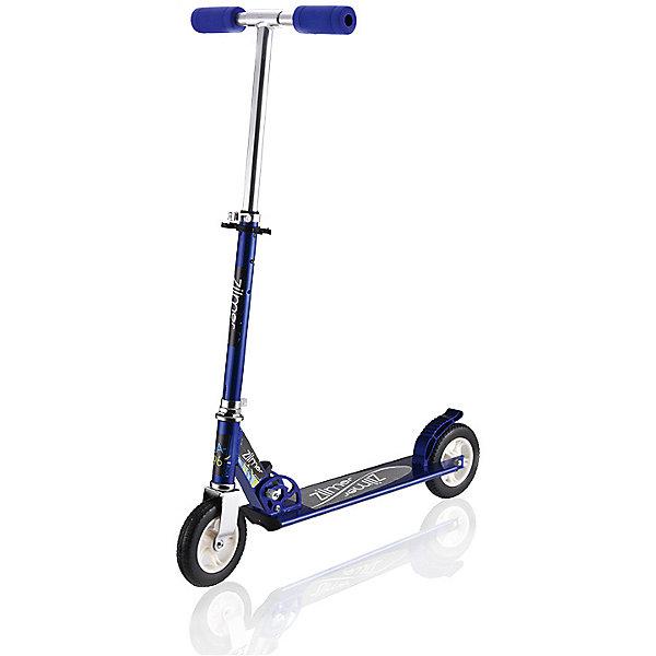 Самокат Zilmer ZA-96, 2 колеса, 74,5x10,5х95,5 смСамокаты<br>Характеристики:<br><br>• возраст: от 6 лет;<br>• материал: пластик, металл, резина;<br>• цвет: синий;<br>• максимальная нагрузка: 80 кг.;<br>• вес: 2,88 кг.;<br>• размер упаковки: 70х11х24 см;<br>• страна бренда: Китай.<br><br>Самокат Zilmer «ZA-96» имеет два колеса, хорошо развивает скорость, подходит опытным или начинающим ребятам. Заднее колесо оснащено крылом против брызг в дождливую погоду. Руль регулируется по высоте.<br><br>Удобные ручки самоката легко помещаются в руке, руки при этом не скользят. Самокат можно быстро сложить для транспортировки. Езда на самокате развивает физические способности, координацию движений и выносливость. Изделие выполнено из прочных качественных материалов.<br><br>Самокат Zilmer «ZA-96», 2 колеса, 74,5х10,5х95,5 см можно купить в нашем интернет-магазине.<br>Ширина мм: 70; Глубина мм: 11; Высота мм: 24; Вес г: 2880; Цвет: синий; Возраст от месяцев: 72; Возраст до месяцев: 120; Пол: Унисекс; Возраст: Детский; SKU: 7753545;