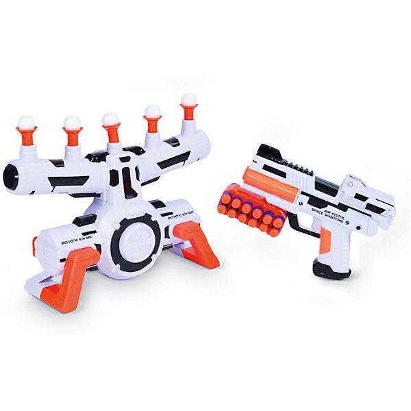 Игровой набор Mioshi  Космический тир: ЛевитацияНаборы оружия<br>Характеристики:<br><br>• возраст: от 4 лет;<br>• материал: пластмасса;<br>• в наборе: бластер, 12 EVA патронов, установка с парящими мишенями, патронаш для пояса;<br>• тип батареек: АА 1,5 V;<br>• наличие батареек: в комплекте;<br>• вес: 830 гр.;<br>• размер упаковки: 53х26х12 см;<br>• страна бренда: Китай.<br><br>Игровой набор Mioshi «Космический тир: Левитация» представляет игру, в которой ребенку предстоит попасть зарядами из бластера по движущимся в воздухе мишеням. Для реалистичности игры предусмотрены звуковые эффекты.<br><br>Набор выполнен в космическом стиле. Все элементы сделаны из безопасного пластика. В комплекте демонстрационные батарейки.<br><br>Игровой набор Mioshi «Космический тир: Левитация» можно купить в нашем интернет-магазине.<br>Ширина мм: 53; Глубина мм: 26; Высота мм: 12; Вес г: 830; Цвет: разноцветный; Возраст от месяцев: 36; Возраст до месяцев: 72; Пол: Мужской; Возраст: Детский; SKU: 7753547;