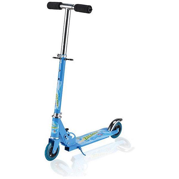 Самокат Zilmer ZS-76, 2 колеса, 60х24х76 смСамокаты<br>Характеристики:<br><br>• возраст: от 6 лет;<br>• материал: пластик, металл;<br>• цвет: голубой;<br>• регулируемая высота руля;<br>• максимальная нагрузка: 25 кг.;<br>• вес: 1,65 кг.;<br>• размер упаковки: 57х10х18 см;<br>• страна бренда: Китай.<br><br>Самокат Zilmer «ZS-76» имеет два колеса, хорошо развивает скорость, подходит для новичков. Заднее колесо оснащено крылом против брызг в дождливую погоду. Руль регулируется по высоте. Имеется подножка.<br><br>Удобные ручки самоката легко помещаются в руке, руки при этом не скользят. Самокат можно быстро сложить для транспортировки. Езда на самокате развивает физические способности, координацию движений и выносливость. Изделие выполнено из прочных качественных материалов.<br><br>Самокат Zilmer «ZS-76», 2 колеса, 60х24х76 см можно купить в нашем интернет-магазине.<br>Ширина мм: 57; Глубина мм: 10; Высота мм: 18; Вес г: 1650; Цвет: синий; Возраст от месяцев: 72; Возраст до месяцев: 120; Пол: Унисекс; Возраст: Детский; SKU: 7753553;