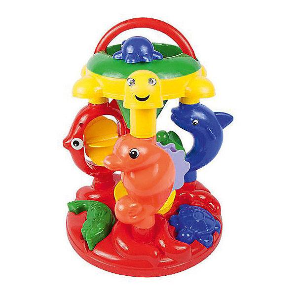 Мельница ALTACTO Морские жители, 26 смИграем в песочнице<br>Характеристики:<br><br>• возраст: от 3 лет;<br>• материал: пластик;<br>• вес упаковки: 845 гр.;<br>• размер упаковки: 26х23х34 см;<br>• страна бренда: Китай.<br><br>Мельница Altacto – интересная игрушка с подвижными деталями, фигурками разных морских обитателей и сортером в основании. Подойдет для игр во время купания или в песочнице. Сделано из прочного безопасного пластика. <br><br>Мельницу ALTACTO «Морские жители», 26 см можно купить в нашем интернет-магазине.<br>Ширина мм: 26; Глубина мм: 23; Высота мм: 34; Вес г: 845; Цвет: разноцветный; Возраст от месяцев: 36; Возраст до месяцев: 72; Пол: Унисекс; Возраст: Детский; SKU: 7753567;