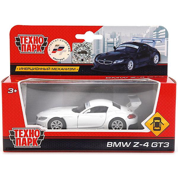 Машина BMW Z-4 GT3 металл. инерц., 1:38, открыв. двери.Машинки<br>Характеристики товара:<br><br>• возраст: от 3 лет;<br>• размер упаковки: 18x7x13 см.;<br>• вес: 170 гр.;<br>• масштаб: 1:38;<br>• из чего сделана игрушка (состав): пластик, металл;<br>• упаковка: картонная коробка.<br><br>Инерционная машина «BMW Z-4 GT3» от бренда «Технопарк» представляет собой уменьшенную копию настоящего автомобиля знаменитой марки.<br><br>Она достоверно проработана вплоть до мельчайших деталей, у нее открываются дверцы, благодаря чему можно разглядеть салон. <br><br>Благодаря металлическому корпусу, игрушка может представлять не только игровую, но и коллекционную ценность.<br><br>Машину «BMW Z-4 GT3» можно купить в нашем интернет-магазине.<br>Ширина мм: 180; Глубина мм: 70; Высота мм: 130; Вес г: 170; Цвет: черный/белый; Возраст от месяцев: 36; Возраст до месяцев: 96; Пол: Мужской; Возраст: Детский; SKU: 7754750;