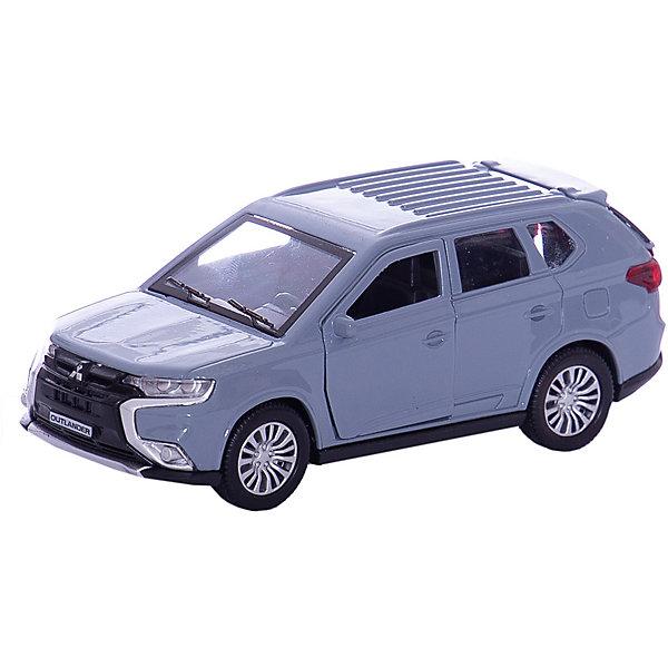 Машина Mitsubishi Outlander 12см, металл. инерц., открыв. Двери.Машинки<br>Характеристики товара:<br><br>• возраст: от 3 лет;<br>• размер упаковки: 18x7x13 см.;<br>• вес: 170 гр.;<br>• размер машинки: 12 см.;<br>• из чего сделана игрушка (состав): пластик, металл;<br>• упаковка: картонная коробка.<br><br>Машина «Mitsubishi Outlander» выполнена очень реалистично и обладает встроенным инерционным механизмом.<br><br>У машинки открываются двери и багажник, что позволит ребенку изучить весь салон автомобиля.<br><br>Изделие изготовлено из прочного высококачественного металла.<br><br>Машину «Mitsubishi Outlander» можно купить в нашем интернет-магазине.<br>Ширина мм: 180; Глубина мм: 70; Высота мм: 130; Вес г: 170; Цвет: серый; Возраст от месяцев: 36; Возраст до месяцев: 96; Пол: Мужской; Возраст: Детский; SKU: 7754810;