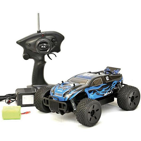 Радиоуправляемый монстр 1:16 HuanQi, синийРадиоуправляемые машины<br>Характеристики товара:<br><br>• возраст: от 8 лет;<br>• материал: пластик;<br>• в комплекте: машина, пульт, аккумулятор, зарядное устройство, инструкция;<br>• тип батареек: 1 батарейка Крона;<br>• наличие батареек: в комплект не входят;<br>• скорость машины: 17 км/час;<br>• масштаб: 1:16;<br>• размер машины: 28х21х12 см;<br>• размер упаковки: 43х30х18 см;<br>• вес упаковки: 1,8 кг;<br>• страна бренда: Китай.<br><br>Радиоуправляемый монстр HuanQi синий — джип на радиоуправлении с хорошими ходовыми характеристиками и развивающий высокую скорость до 17 км/час. <br><br>У машины большие резиновые колеса, способные проходить самые сложные участки дороги. Дифференциалы дополнительно позволяют без труда ездить по кочкам и бездорожью. Амортизаторы защищают от тряски и от повреждения при столкновении. Машинка оснащена триммером руля для выравнивания движения по прямой. <br><br>Радиоуправляемого монстра HuanQi синего можно приобрести в нашем интернет-магазине.<br>Ширина мм: 430; Глубина мм: 300; Высота мм: 180; Вес г: 1800; Цвет: синий; Возраст от месяцев: 96; Возраст до месяцев: 2147483647; Пол: Мужской; Возраст: Детский; SKU: 7757335;