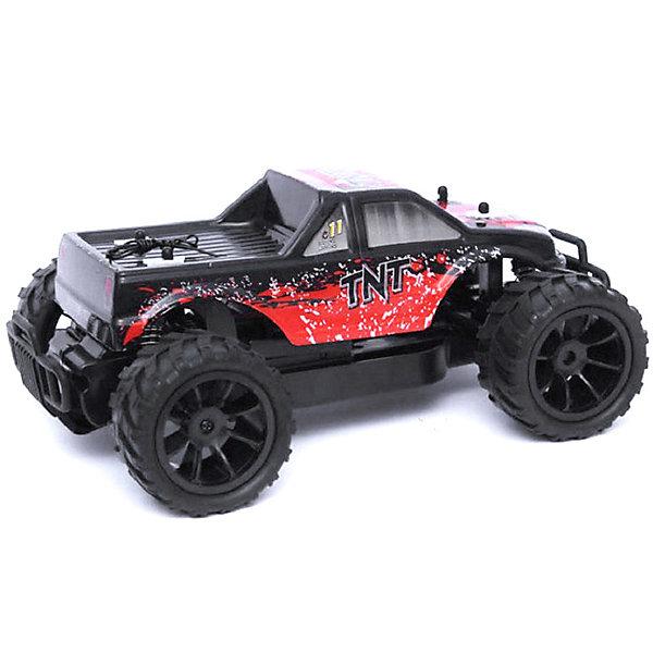 Радиоуправляемый монстр 1:16 HuanQi, красныйРадиоуправляемые машины<br>Характеристики товара:<br><br>• возраст: от 8 лет;<br>• материал: пластик;<br>• в комплекте: машина, пульт, аккумулятор, зарядное устройство, инструкция;<br>• тип батареек: 1 батарейка Крона;<br>• наличие батареек: в комплект не входят;<br>• скорость машины: 17 км/час;<br>• масштаб: 1:16;<br>• размер машины: 28х21х12 см;<br>• размер упаковки: 43х30х18 см;<br>• вес упаковки: 1,8 кг;<br>• страна бренда: Китай.<br><br>Радиоуправляемый монстр HuanQi красный — джип на радиоуправлении с хорошими ходовыми характеристиками и развивающий высокую скорость до 17 км/час. <br><br>У машины большие резиновые колеса, способные проходить самые сложные участки дороги. Дифференциалы дополнительно позволяют без труда ездить по кочкам и бездорожью. Амортизаторы защищают от тряски и от повреждения при столкновении. Машинка оснащена триммером руля для выравнивания движения по прямой. <br><br>Радиоуправляемого монстра HuanQi красного можно приобрести в нашем интернет-магазине.<br>Ширина мм: 430; Глубина мм: 300; Высота мм: 180; Вес г: 1800; Цвет: красный; Возраст от месяцев: 96; Возраст до месяцев: 2147483647; Пол: Мужской; Возраст: Детский; SKU: 7757337;