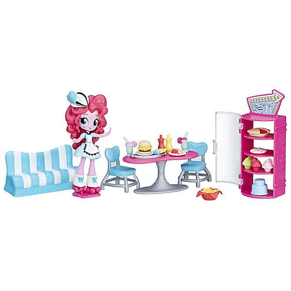 Купить Мини-кукла Equestria Girls Пижамная вечеринка Кафе Пинки Пай, Hasbro, Китай, Женский
