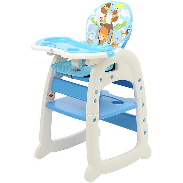 Стульчик для кормления Polini 460, синийСтульчики для кормления<br>Характеристики:<br><br>• стульчик 2в1: стульчик для кормления, парта со стульчиком;<br>• регулируемая спинка: 3 положения наклона;<br>• регулируемый столик: 3 положения глубины;<br>• столешницу можно снять;<br>• 5-ти точечные ремни безопасности;<br>• мягкий чехол можно снять и постирать при температуре 30 градусов;<br>• материал: пластик, полиэстер;<br>• возраст ребенка: от 6 месяцев до 3-х лет;<br>• вес ребенка: до 15 кг;<br>• парта и стульчик предназначены для детей от 3-х до 6-ти лет;<br>• вес: до 18 кг;<br>• размер стульчика для кормления 76х55х110 см;<br>• размер столика для кормления 62х39 см;<br>• размер детского стульчика 76х55х46 см;<br>• размер столешницы 46х57 см;<br>• размер стульчика 56х46,5х66 см;<br>• размер упаковки: 53х20х27 см;<br>• вес в упаковке: 9 кг.<br><br>Функциональный стульчик для кормления используется от полугода до шести лет. Стульчик для кормления с высокой спинкой, столешницей и ремнями безопасности пригодится на этапе введения прикорма. Регулируемая по глубине столешница и регулируемая по наклону спинка стульчика позволяет не только принимать пищу, но также и отдыхать после обеда. После 3-х лет конструкцию стульчика можно преобразовать в детский столик и стул со спинкой. Ребенок сможет рисовать, раскрашивать, лепить и собирать пазлы, сидя за столиком. <br><br>Стульчик для кормления Polini 460, зеленый можно купить в нашем интернет-магазине.<br>Ширина мм: 530; Глубина мм: 270; Высота мм: 650; Вес г: 9000; Цвет: синий; Возраст от месяцев: 72; Возраст до месяцев: 6; Пол: Унисекс; Возраст: Детский; SKU: 7760066;