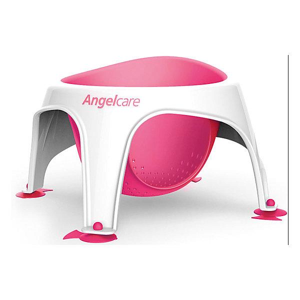 Сидение для купания AngelCare Bath ring, розовоеТовары для купания<br>Характеристики:<br><br>• сидение для купания малышей старше полугода;<br>• эргономичная форма;<br>• сетчатая силиконовая вставка;<br>• антибактериальные свойства поверхности сидения;<br>• 4 ножки на присосках;<br>• система антискольжения;<br>• цвет: розовый;<br>• материал: пластик, силикон;<br>• размер упаковки: 35х35х30 см;<br>• вес: 750 г.<br><br>Сидение для купания представляет собой креслице на ножках с силиконовой вставкой-сиденьем. Крепится с помощью присосок. Ребенок во время купания сидит в креслице, безопасно плещется и играет. Сидение легко сушится. В розовом цвете обычно используется для купания девочек. <br><br>Сидение для купания AngelCare «Bath ring», розовое можно купить в нашем интернет-магазине.<br>Ширина мм: 350; Глубина мм: 350; Высота мм: 300; Вес г: 750; Цвет: розовый/розовый; Возраст от месяцев: 72; Возраст до месяцев: 144; Пол: Женский; Возраст: Детский; SKU: 7760089;