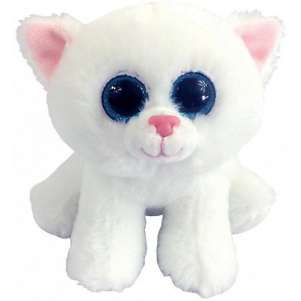Купить Мягкая игрушка Abtoys Котенок, 15 см, Мягкая игрушка Abtoys Котенок белый, Китай, Унисекс