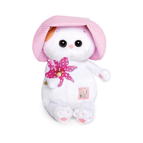 Мягкая игрушка Budi Basa Кошечка Ли Ли Baby в панамке с вертушкой, 20 смМягкие игрушки-кошки<br>Характеристики товара:<br><br>• возраст: от 3 лет;<br>• материал: текстиль, искусственный мех;<br>• высота игрушки: 20 см;<br>• размер упаковки: 27х16х14 см;<br>• вес упаковки: 300 гр.;<br>• страна производитель: Россия.<br><br>Мягкая игрушка «Ли-Ли Baby в панамке с вертушкой» Budi Basa — очаровательная пушистая белоснежная кошечка с большими глазками и оранжевыми ушками. <br><br>Игрушка выполнена из качественного безопасного материала, настолько приятного и мягкого, что ребенок будет брать с собой котенка в кроватку и спать в обнимку.<br><br>Мягкую игрушку «Ли-Ли Baby в панамке с вертушкой» Budi Basa можно приобрести в нашем интернет-магазине.<br>Ширина мм: 215; Глубина мм: 150; Высота мм: 110; Вес г: 320; Цвет: белый; Возраст от месяцев: 36; Возраст до месяцев: 168; Пол: Унисекс; Возраст: Детский; SKU: 7771033;