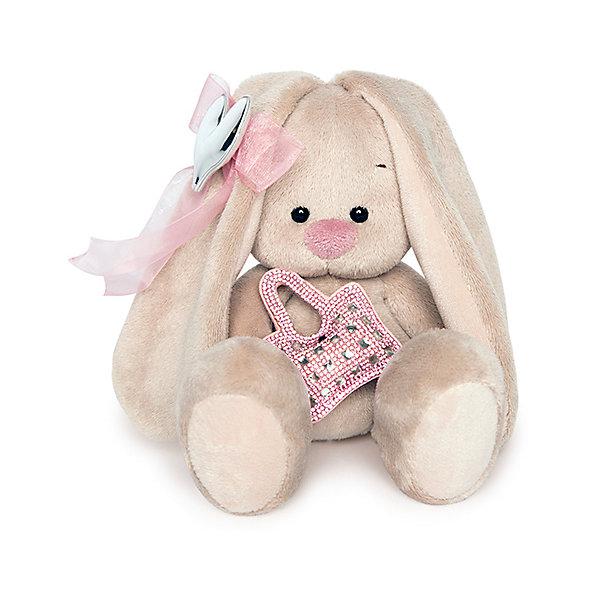 Мягкая игрушка Budi Basa Зайка Ми с сумочкой и сердечком, 15 смМягкие игрушки зайцы и кролики<br>Характеристики товара:<br><br>• возраст: от 3 лет;<br>• материал: текстиль, искусственный мех;<br>• высота игрушки: 15 см;<br>• размер упаковки: 15х14х15 см;<br>• вес упаковки: 270 гр.;<br>• страна производитель: Россия.<br><br>Мягкая игрушка «Зайка Ми с сумочкой и сердечком» Budi Basa — очаровательный пушистый зайчонок с длинными ушками.Игрушка выполнена из качественного безопасного материала, настолько приятного и мягкого, что ребенок будет брать с собой зайку в кроватку и спать в обнимку.<br><br>Мягкую игрушку «Зайка Ми с сумочкой и сердечком» Budi Basa можно приобрести в нашем интернет-магазине.<br>Ширина мм: 135; Глубина мм: 135; Высота мм: 130; Вес г: 250; Цвет: бежевый; Возраст от месяцев: 36; Возраст до месяцев: 168; Пол: Унисекс; Возраст: Детский; SKU: 7771035;
