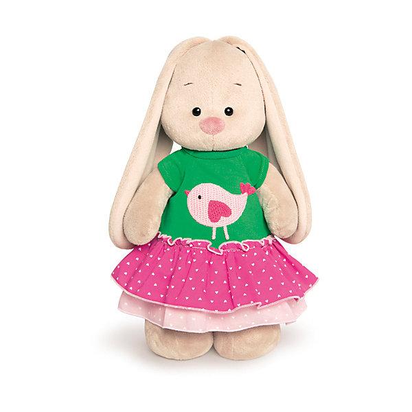 Мягкая игрушка Budi Basa Зайка Ми в толстовке с птичкой, 32 смМягкие игрушки зайцы и кролики<br>Характеристики товара:<br><br>• возраст: от 3 лет;<br>• материал: текстиль, искусственный мех;<br>• высота игрушки: 32 см;<br>• размер упаковки: 33х16х13 см;<br>• вес упаковки: 480 гр.;<br>• страна производитель: Россия.<br><br>Мягкая игрушка «Зайка Ми в толстовке с птичкой» Budi Basa — очаровательный пушистый зайчонок с длинными ушками. На зайке толстовка с рисунком. Игрушка выполнена из качественного безопасного материала, настолько приятного и мягкого, что ребенок будет брать с собой зайку в кроватку и спать в обнимку.<br><br>Мягкую игрушку «Зайка Ми в толстовке с птичкой» Budi Basa можно приобрести в нашем интернет-магазине.<br>Ширина мм: 610; Глубина мм: 395; Высота мм: 290; Вес г: 683; Цвет: бежевый; Возраст от месяцев: 36; Возраст до месяцев: 168; Пол: Унисекс; Возраст: Детский; SKU: 7771051;